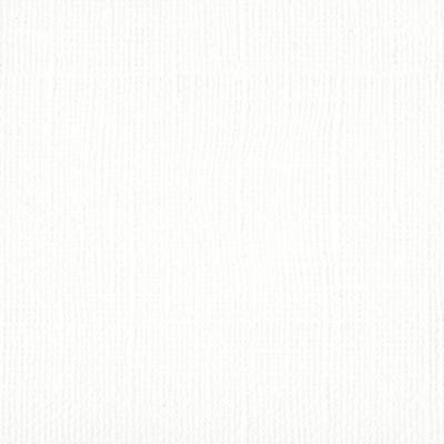 """Bazzill mono 12 x 12"""" White"""