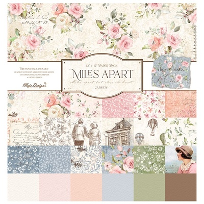 Miles Apart - 12x12 Collection Pack