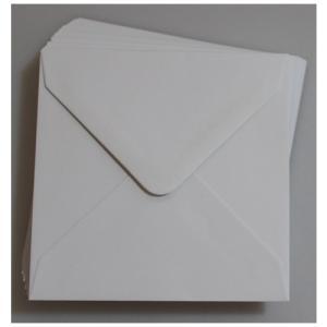 Kuvert 116 x 116 mm, 50 stk.