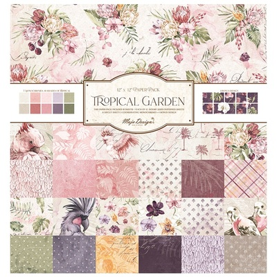 Tropical Garden - 12x12 Collection Pack