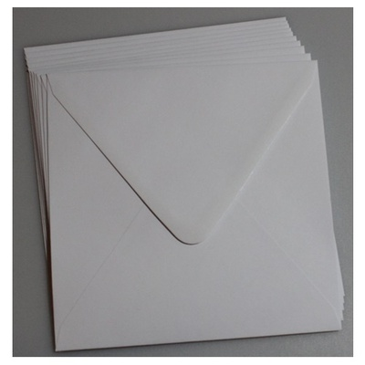 Kuvert 170 x 170 mm 10 stk.