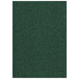 Glitter Foam Sheet -  Dark Green A4