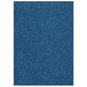 Glitter Foam sheet -  Dark Blue 4
