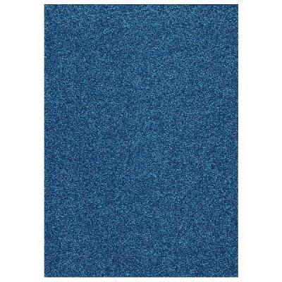 Glitter Foam sheet -  Dark Blue 4
