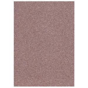 Glitter Foam sheet -  Pastel Pink A4