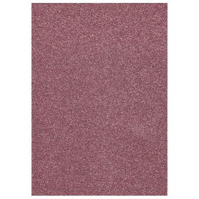 Glitter Foam sheet -  Pink A4
