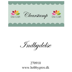 Dixi Craft Clearstamp