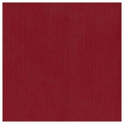 Bazzill  mono canvas 12 x 12 crimson