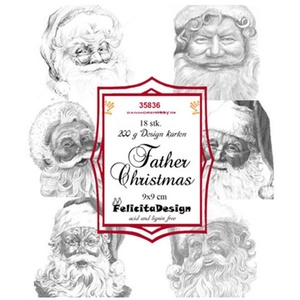 Felicita Design toppers -  Father Christmas