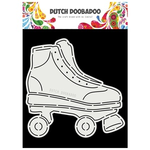 Dutch Card Art A5 Rollerskates