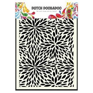 Dutch Mask Art A5 Floral Waves
