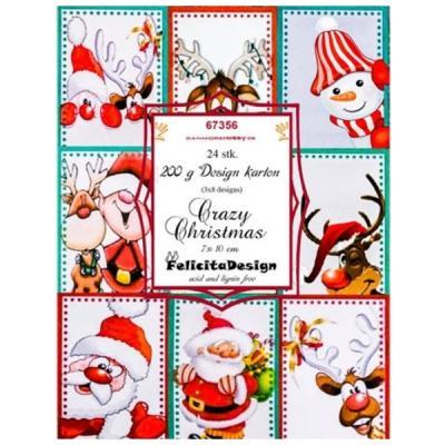 Felicita Design toppers -  Crazy Christmas