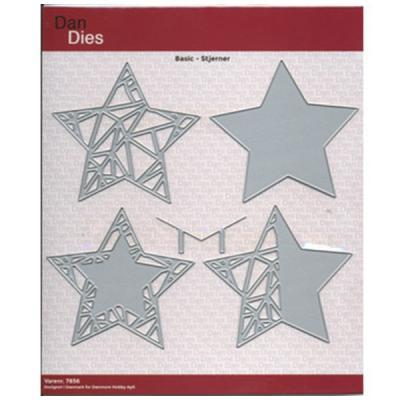 Dies Dan Basic stjerner 4 stk