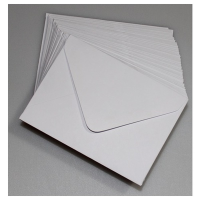 Kuvert 82 x 113 mm 50 stk.