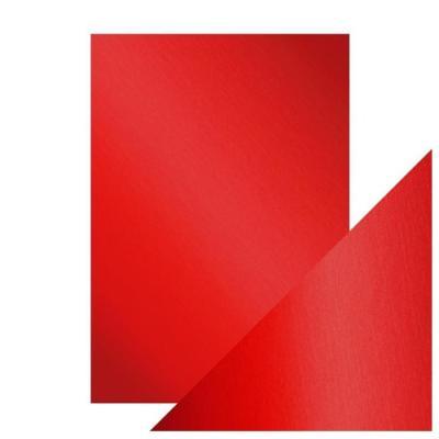 Mirror Card, Scarlet Organza