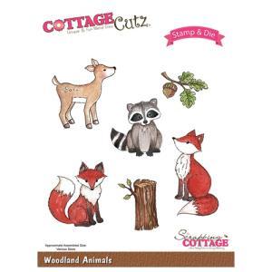 CottageCutz Woodland Animals