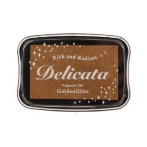 Delicata inkpad Metallic Golden Glitz DE-000-191