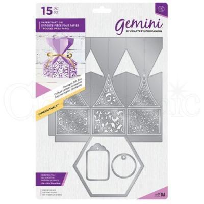"""Gemini Die """"Hexagon Gift Box"""""""