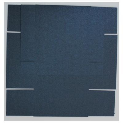 Gaveæske, Mørk Blå Metallic, 5 stk.