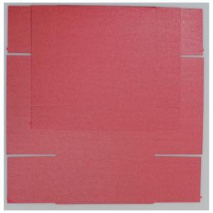 Gaveæske, Rød Metallic, 5 stk.