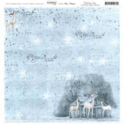 Reprint - Christmas Time, Glittery Night
