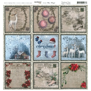 Reprint - Christmas Time, Tags 1