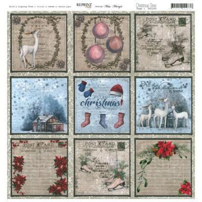 Reprint - Christmas Time, Tags 1