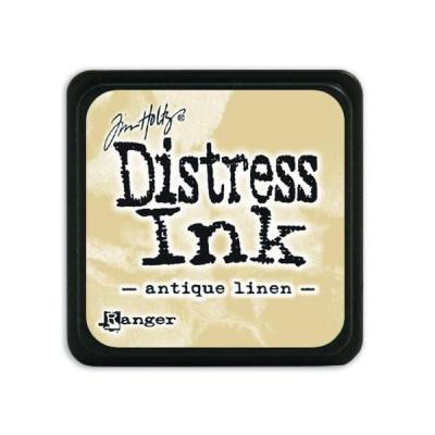 Ranger Distress Mini Ink pad - antique linen
