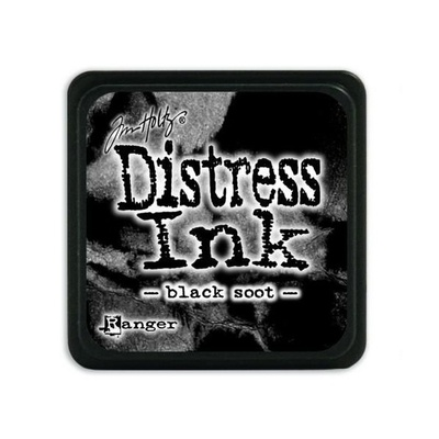 Ranger Distress Mini Ink pad - black soot