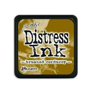 Ranger Distress Mini Ink pad - brushed corduroy