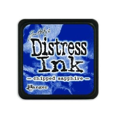 Ranger Distress Mini Ink pad - chipped sapphire