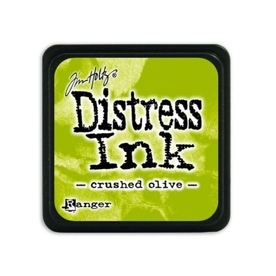 Ranger Distress Mini Ink pad - crushed olive