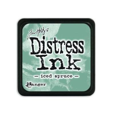 Ranger Distress Mini Ink pad - iced spruce