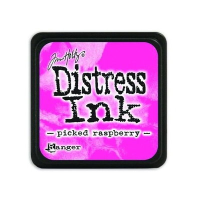 Ranger Distress Mini Ink pad - picked raspberry