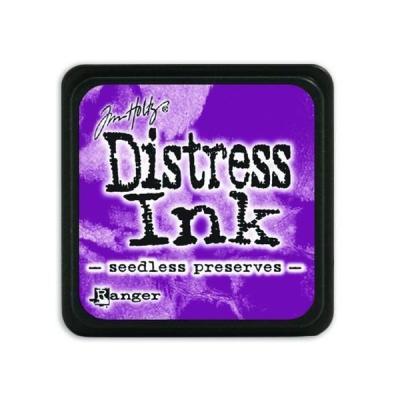 Ranger Distress Mini Ink pad - seedless preserves