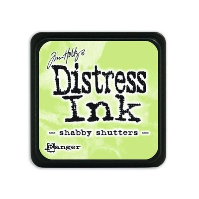 Ranger Distress Mini Ink pad - shabby shutters