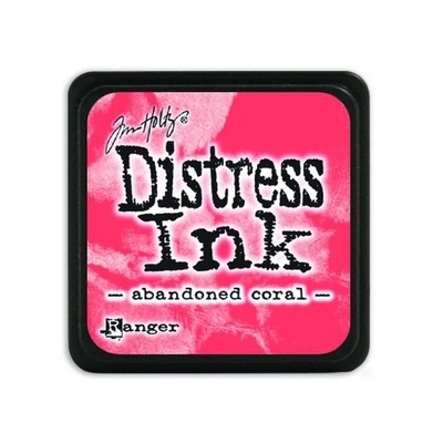 Ranger Distress Mini Ink pad - abandoned coral