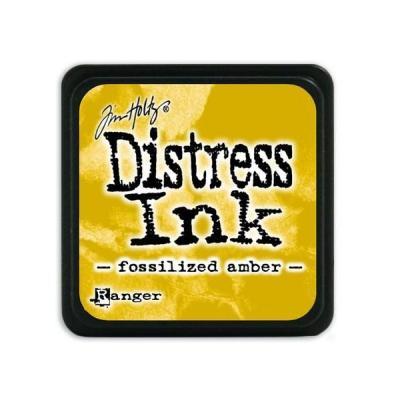 Ranger Distress Mini Ink pad - fossilized amber