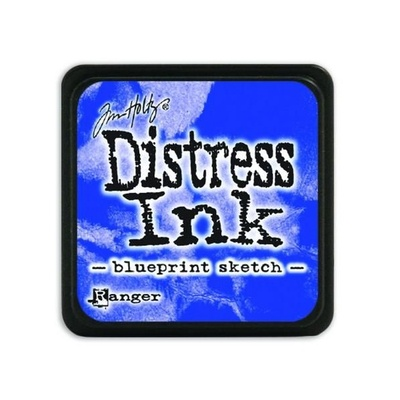Ranger Distress Mini Ink pad - blueprint sketch