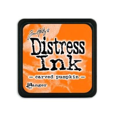 Ranger Distress Mini Ink pad - carved pumpkin