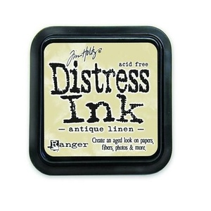 Distress Inks pad - antique linen