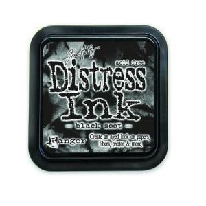 Distress Inks pad - black soot
