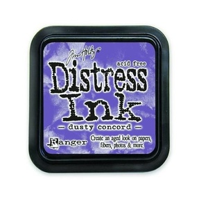 Distress Inks pad - dusty concord