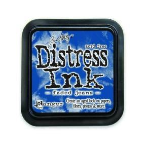 Distress Inks pad - faded jeans