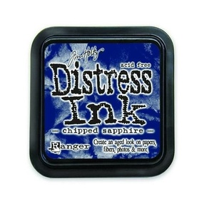 Distress Inks pad - chipped sapphire