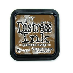Distress Inks pad - gathered twigs