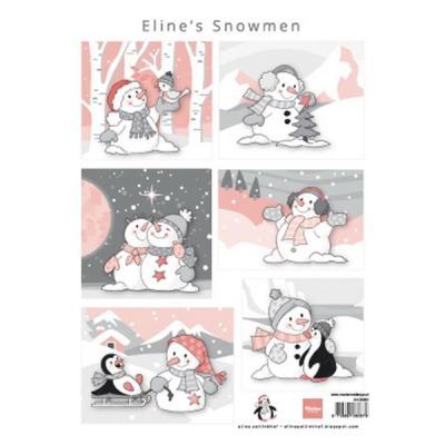 Marianne Design - Eline`s Snowmen 3D ark
