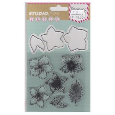 Studio Light clear stamp & Die