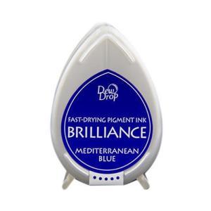 Brilliance dew drop - Mediterranean Blue