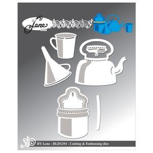 "BY LENE DIES ""Vintage Kitchen Tools-2"""